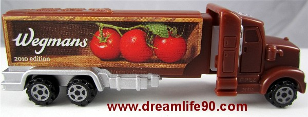 October YELLOW Raffle Ticket WEGMANS TOMATOES 2010 HAULER PEZ TRUCK WINNERS: Tom Sykes, Tonja Cox, Sunni Root, Wallace Dibble, Nick Schaumburg