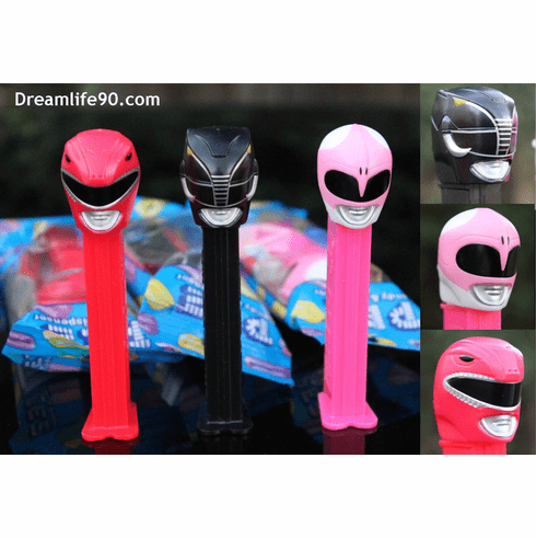 Power Rangers Pez, Set of 3, Combo Pack