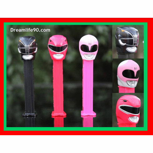 Power Rangers Pez, Set of 3, Loose  SALE!