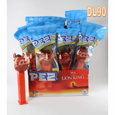 Pumba Pez Party Pack, 12 dispensers Mint in Bag including Counter Display