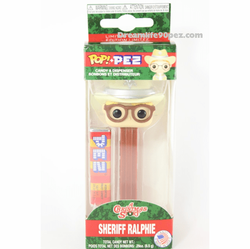 Sheriff Ralphie Funko Pez, A Christmas Story, Mint in Box ONLY 3 IN STOCK
