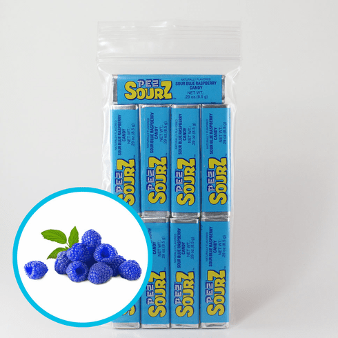 Sour Blue Raspberry Pez Candy 9 Pack (No International Buyers, Please) ONLY 1 LEFT