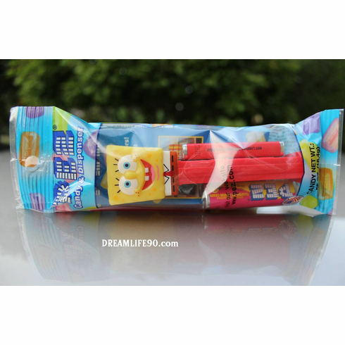 SpongeBob SquarePants Pez, Mint in Bag