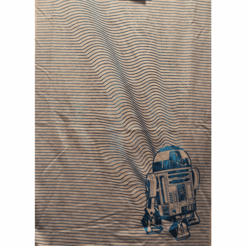 Star Wars Graphic T, R2D2, Adult Medium, Short Sleeved, New with Tags, ONLY 1 IN STOCK