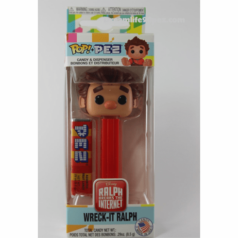 Ralph, from Wreck-It Ralph Funko Pez, Ralph Breaks the Internet, Disney, Choose Loose or Mint in Box