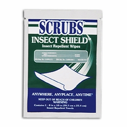 INSECT SHIELD� Insect Repellent Individual Wipes