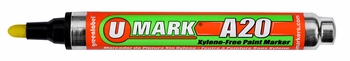 U-Mark A20 Reversible Tip Xylene-Free Paint Marker