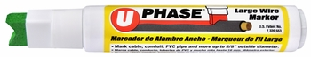 U-Phase Large Wire Marker