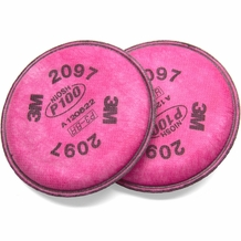 3M 2097 P100 Particulate Filter w/ Nuisance Organic Vapor Protection (1 pair)
