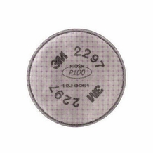3M 2297 P100 Advanced Particulate Filter For 5000, 6000, 6500, and 7000 Series Respirators (1 pair)