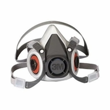 3M 6200 Half-Face Reusable Respirator Kit- Includes 2 pairs of 3M 2071 Filters