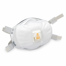 3M 8233 N100 Particulate Respirator Mask