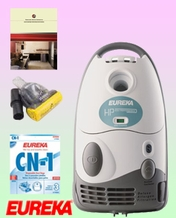 Eureka HP6855A Canister Vacuum Cleaner - Deluxe Kit