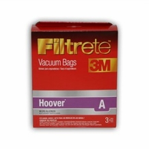 Filtrete Hoover 64700 Type A MicroAllergen Bags, 3 Pack