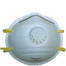 Gerson 1740 N95 Particulate Respirator Mask w/valve (10 pack)