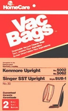 Home Care Industries 30 Vacuum Bag for Kenmore (2 pack)