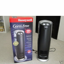 Honeywell HCM-305T Quiet Care 3.0 Gallon Ultraviolet Tower Humidifier- Black