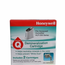 Honeywell HDC-200 Demineralization 2-pk Cartridge for Humidifier HUT 200 Series (Set of 3 Packs)
