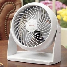 Honeywell HT-904C Super Turbo Table Fan, White