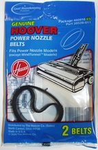 Hoover 40201045 Power Nozzle Vacuum Cleaner Belts (2 pack)