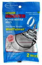 Hoover 40201180 Vacuum Cleaner Power Nozzle Belts (2 pack)