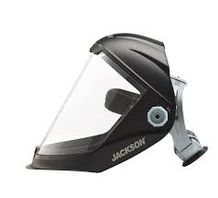Jackson Safety Lightweight MAXVIEW Premium Face Shield with Ratcheting Headgear, Clear Tint, Uncoated