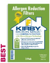 Kirby F Style Vacuum Bags for 2009 & Newer Sentria Models (6 pack)