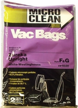 Micro Clean Multi-Layer Bags for Eureka, Style F&G (4 pack)