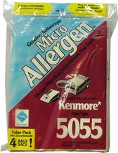 MicroAllergen Vacuum Cleaner Bags for Kenmore 5055 (3 pack)