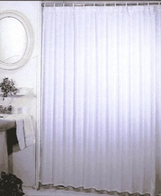 Mold and Mildew Resistant Shower Curtain- 70''W x 71''L