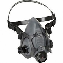 North Safety 550030 5500 Series Low Maintenance Half Mask Respirator, Cartridge Not Included