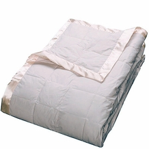 Primaloft Luxury Blanket Queen Size 104'' x 94''- Ivory Color