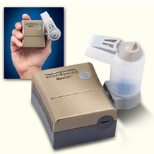 Respironics RDD491 MicroElite Portable Compressor Nebulizer System- Deluxe w/ Battery