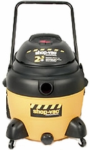 Shop-Vac 9623910 2.5 HP / 16 Gl. Industrial Multi-Purpose Wet / Dry Vacuum