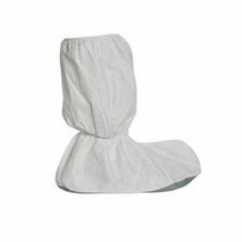 Tyvek 18'' High Top Shoe/Boot Cover, One Size Fits Most, Gray- 100 pack (50 pairs)