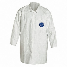 Tyvek Lab Coat with Two Pockets