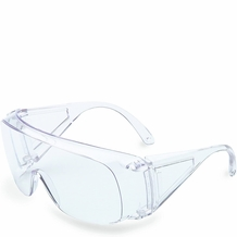 Uvex Safety Eyewear Ultra-spec 1000 Clear Lens, Clear Frame, Uncoated. Made in U.S.A