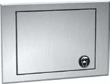 Counter Top Mounted Waste Receptacle