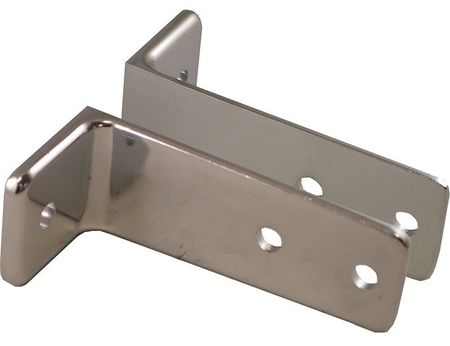 """2 Piece Bracket Set - 1.50"""" High - Fits Any Panel, Pilaster or Screen"""