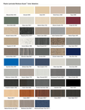 Accurate Laminate Colors for Restroom Partitions