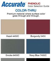 Accurate Phenolic Color Chart