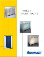 Accurate Toilet Partitions Catalog