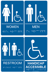 ADA Braille Acrylic Signs