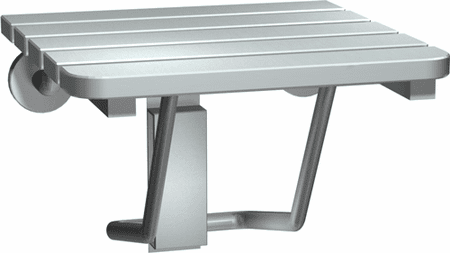 Compact Folding Stainless Steel Shower Seat