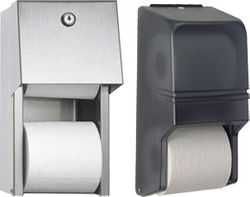 Covered Double Roll Toilet Paper Holder - Popular