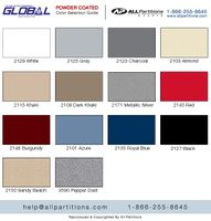 Global Metal Color Chart