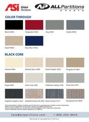 Global Phenolic Color Chart