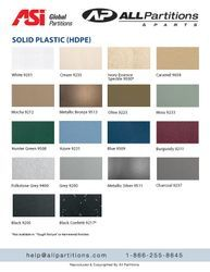 Global solid plastic colors