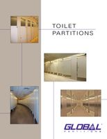 Global Toilet Partitions Catalog