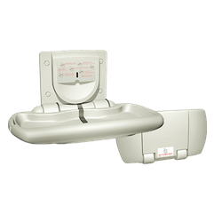 Horizontal Baby Changing Station - Putty Color